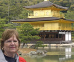 [DiAnn at Kinkakuji (Golden Temple), Kyoto, Japan]